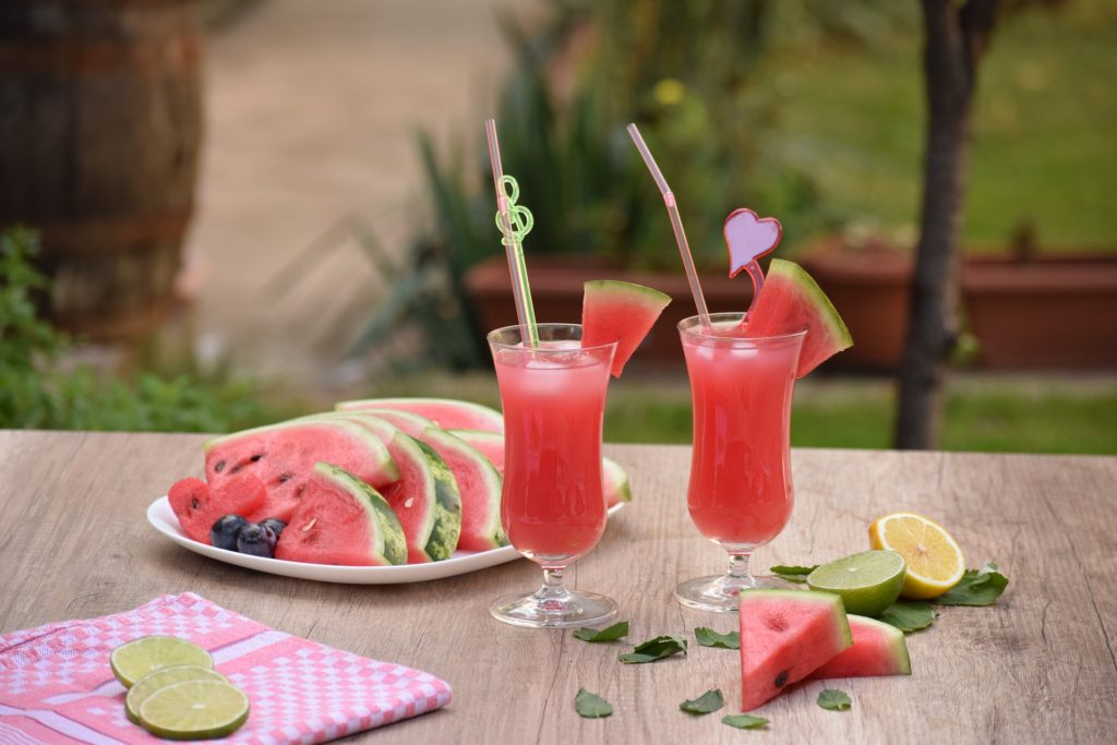Wassermelonensmoothie