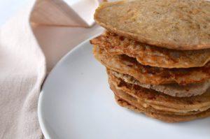 Bananen - Pancakes ohne Soße