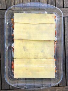 Lasagneplatten-Schicht